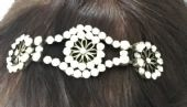 Hair Ornament-Edwardian to 1920s  - Diamante Diadem or Sew-on trim